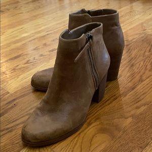 Gianni bini brown leather booties